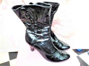 Gr. 40 Caprice 6 1/2 Lackleder Stiefel sehr guter Zustand neu ca. 100Euro