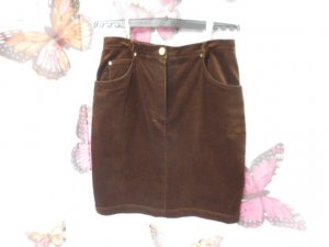 Betty Barclay Mini rok bruin-donkerbruin