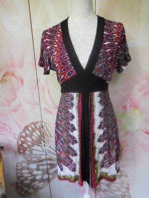 Comma Robe tunique multicolore