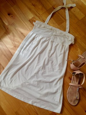 Gr M Urban Outfitteres Kimchi&blue weisses Neckholder Träger Kleid