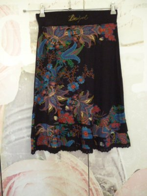 Desigual Tulip Skirt multicolored cotton