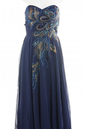 Grace Karin Abendkleid neonblau Elegant