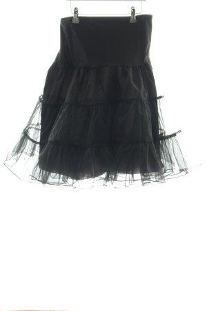 Grace Karin Enaguas negro estilo extravagante