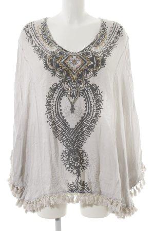 Grace Oversized blouse veelkleurig Boho uitstraling
