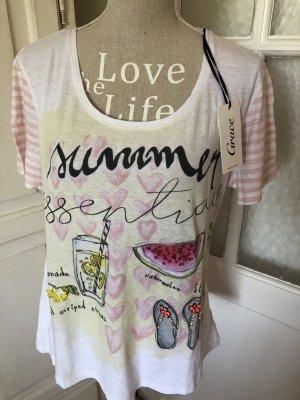 Grace Shirt Glitzer Steine neu mit Etikett 89€