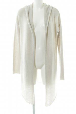 Grace Knitted Coat natural white flecked casual look