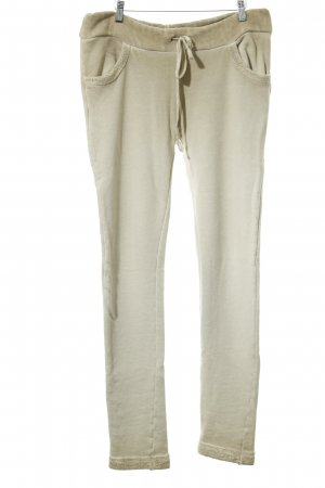 Grace Pantalone fitness beige stile casual