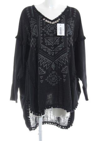 Grace Sweatshirt schwarz Casual-Look
