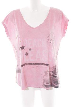 Grace T-Shirt blasslila sportlicher Stil