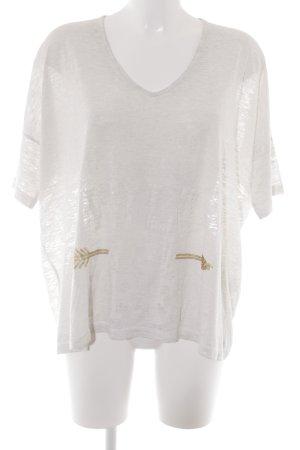 Grace T-Shirt hellbeige meliert Casual-Look
