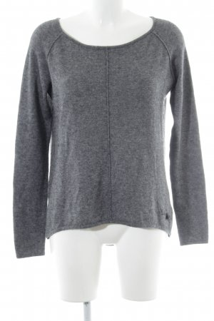 Grace Wollpullover anthrazit meliert Casual-Look