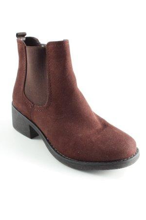 Graceland Chelsea laarzen donkerbruin casual uitstraling