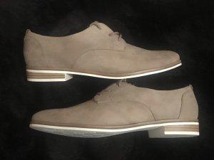 Graceland Damen Schnürschuhe Schuhe Budapester 41 neu beige