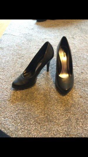 Graceland Damenschuhe schwarz 9cm Absatz