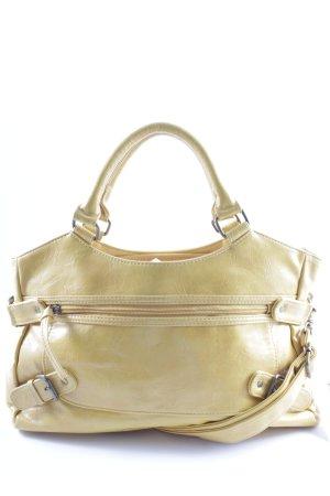 Graceland Handtasche gelb klassischer Stil