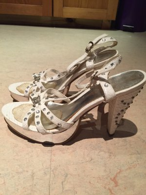 Graceland high Heels Sandale mit Totenkopf
