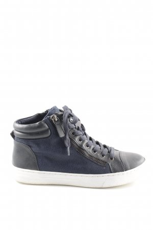 Graceland High Top Sneaker dunkelblau-weiß Mustermix Casual-Look