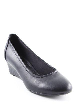 Graceland Keil-Pumps schwarz Elegant