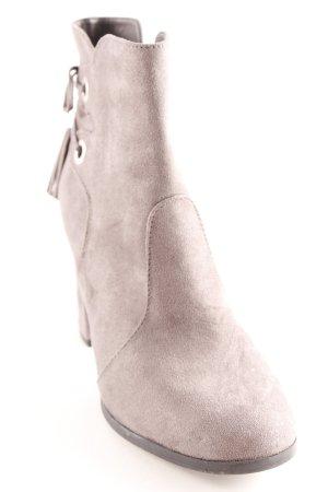 Graceland Keil-Stiefeletten grau Boho-Look