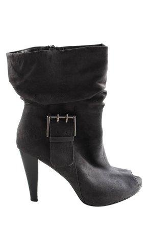 Graceland Botas bajas negro look casual
