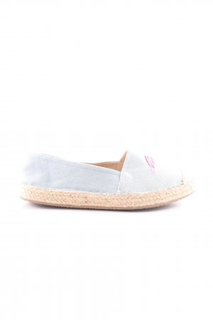 Graceland Moccasins light grey-pink themed print casual look