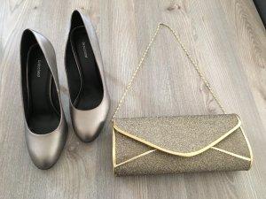 Graceland Pumps Gr. 40 & Clutch / Handtasche - Neu mit u. ohne Etikett