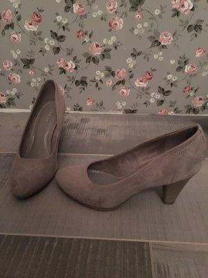 Graceland Pumps grau Wildleder Imitat Gr. 36