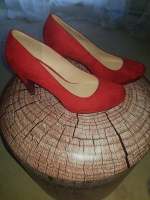 Graceland Escarpins Mary Jane rouge