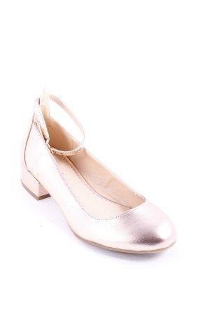Graceland Riemchen Ballerinas roségoldfarben Lolita-Look