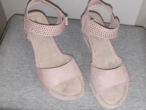 Graceland Sandalen mit Strass - Keilabsatz