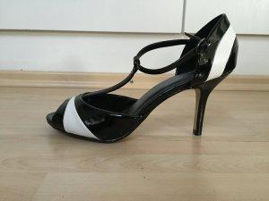 Graceland Sandaletten schwarz-weiß