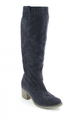 Graceland Jackboots dark blue casual look