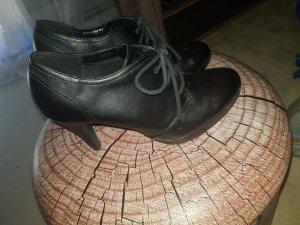Graceland Tacones con cordones negro
