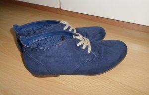 Graceland Schnürer Halbschuhe blau