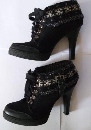 Graceland Schnürrschuhe/Stiefelette High-Heels
