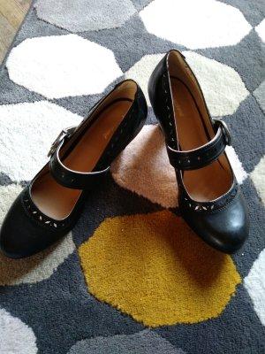 Graceland schwarz mit Schmallen