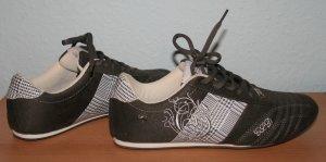 Graceland Sneakers GLP grau weiß silber Gr. 37/38