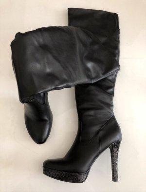 Graceland Stiefel Glitzerabsatz