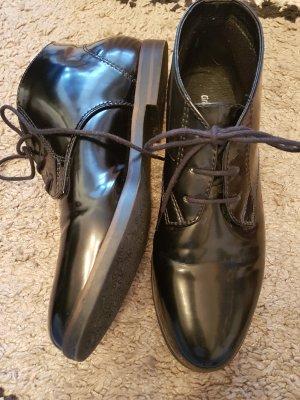 Graceland tolle schwarze Stiefeletten Grösse 39