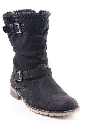 Graceland Winterstiefel schwarz Casual-Look