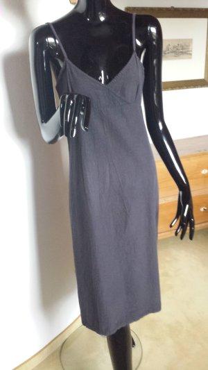 Vestido playero negro Algodón