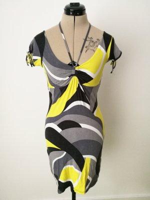 grafisch gemustertes Kleid