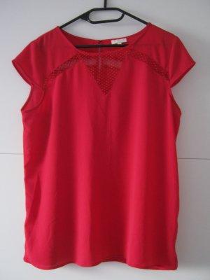 grain de malice Blusa de manga corta rojo
