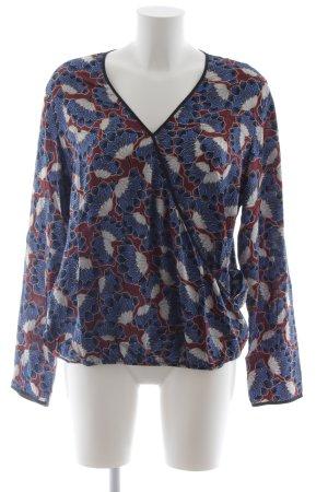 grain de malice Langarm-Bluse florales Muster Boho-Look