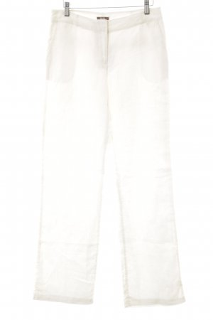 grain de malice Linen Pants cream casual look