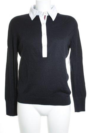 Gran Sasso Donna Polo-Shirt dunkelblau Casual-Look