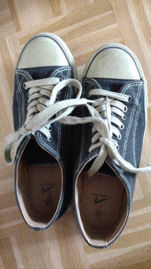 Pep Step Sneaker nero-bianco Canapa