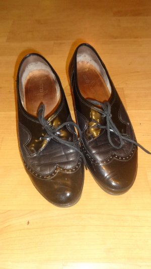 ara Lace Shoes black leather