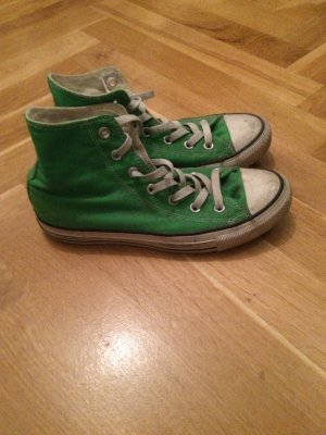 Grasgrüne Chucks (All Stars)