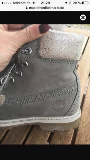 Grau Beige Tmberland Boots
